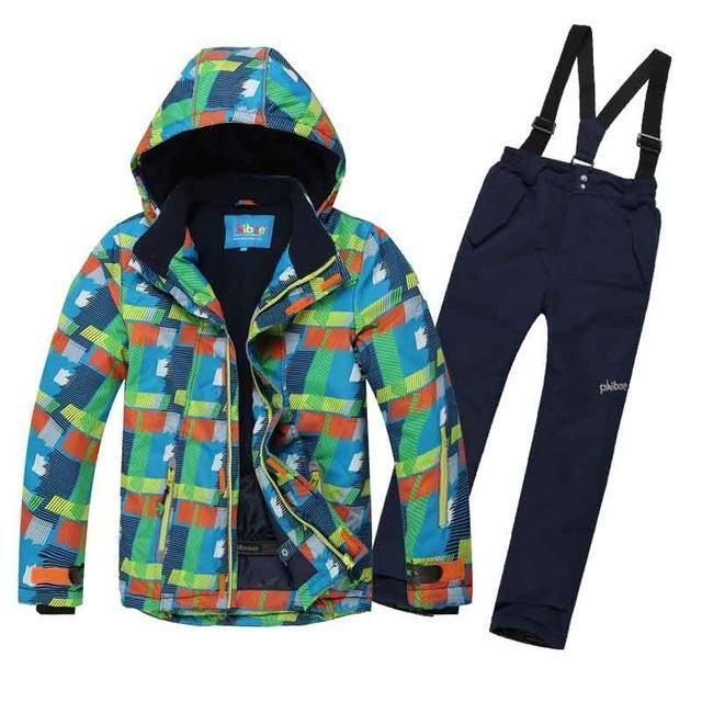 d39cd4058 DETECTOR Kid's Ski Set | Kids Snow Gear | Ski set, Snowboard set ...
