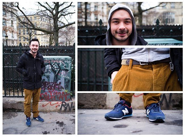 new balance homme street style