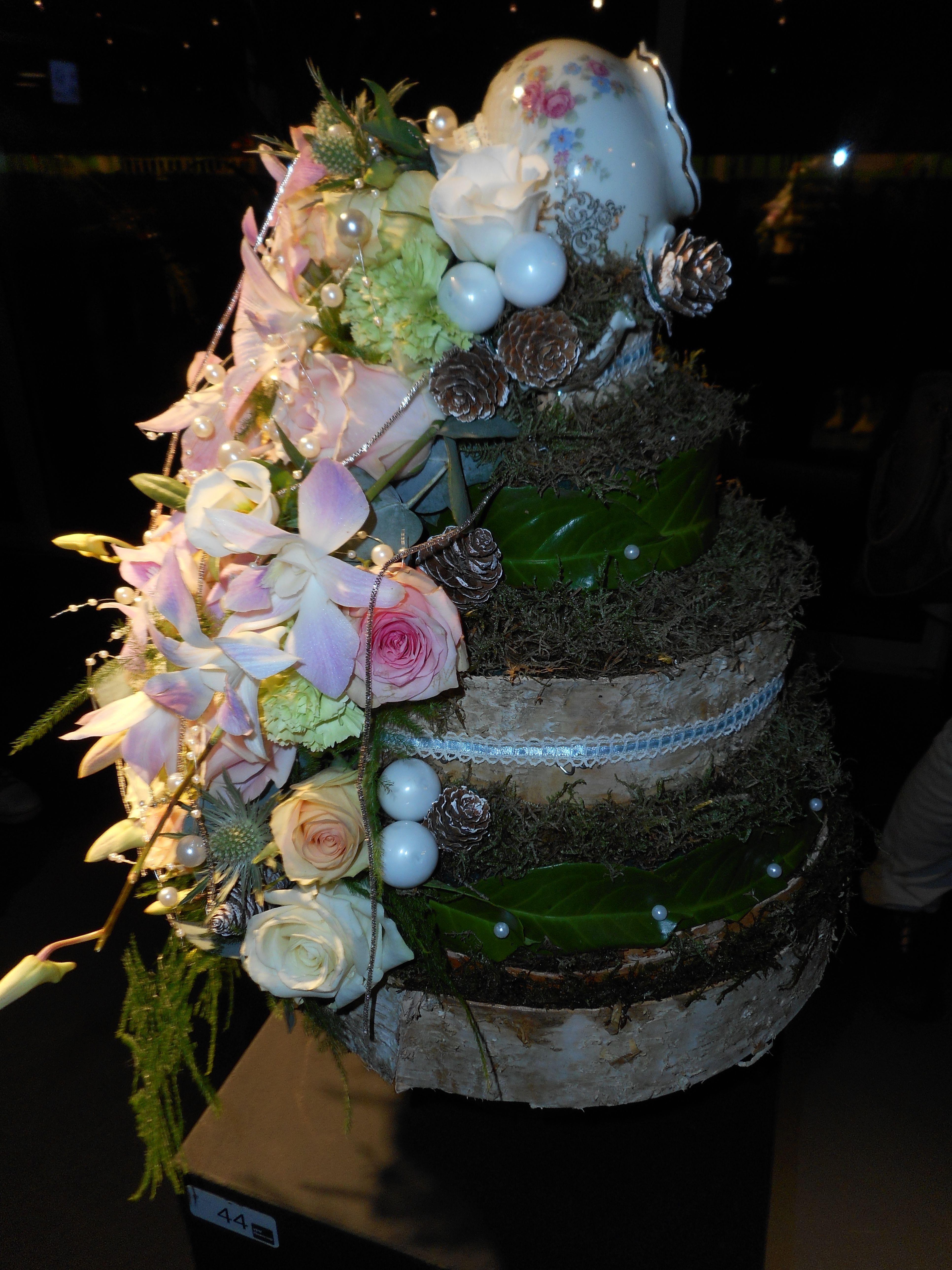bloemstuk gemaakt voor de vbw flowercup in groningen
