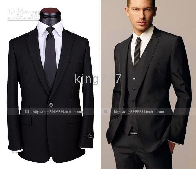 Suit For Adam With A Purple Tie Maybe