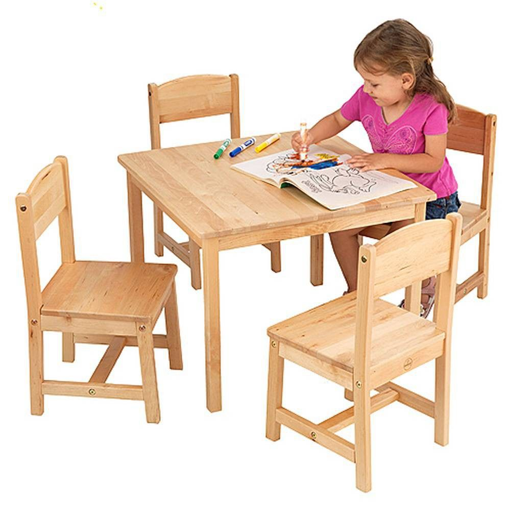 Painting of Perfect Table And Chair Set For Toddlers | Furniture ...