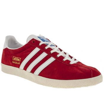 red adidas mens trainers