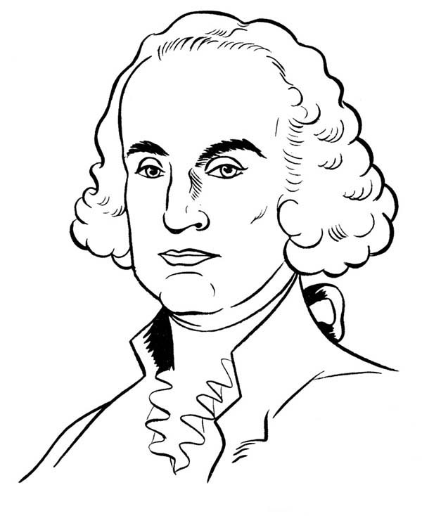 George Washington Lead The American People To Gain Their Independence Coloring Page Kids Play Captain America Coloring Pages Coloring Pages Fox Coloring Page