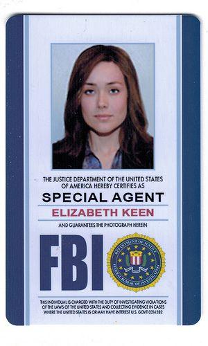 Prop Id Black List The Magicians Deadpool Fan Art Special Agent