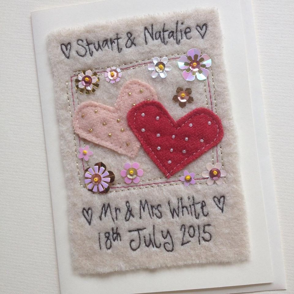 Personalised Greetings Card For A Wedding Anniversary Valentines