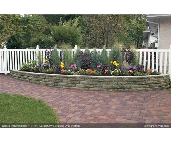 Raised Bed Retaining Wall: Raised Bed Along Fence - Google Search