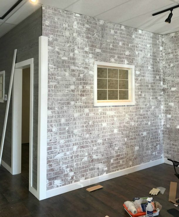 Use Venetian Plaster To Add Texture To Your Faux Brick