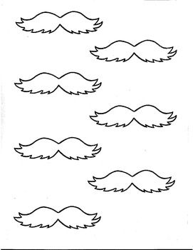 Persnickety image intended for printable lorax mustache and eyebrows