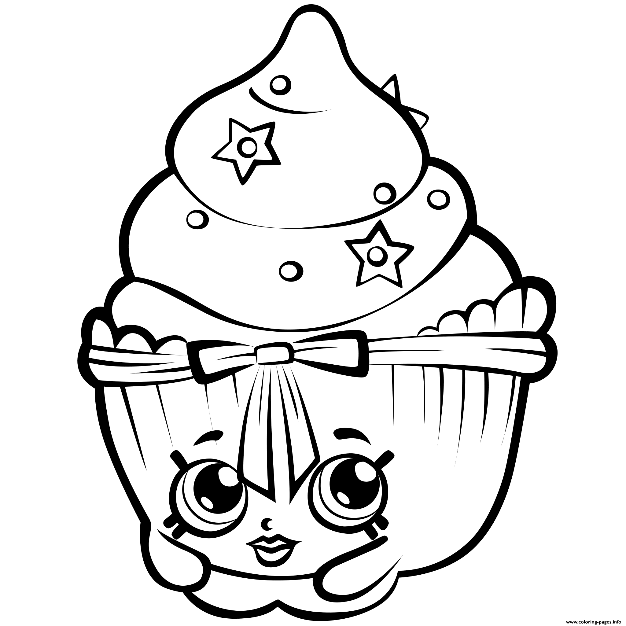 Shopkins coloring pages season 3 - Print Season 3 Patty Cake Shopkins Season 3 Coloring Pages