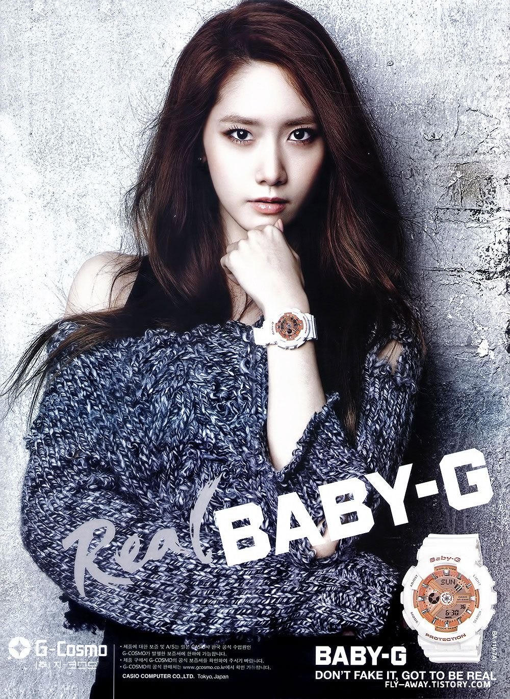 CASIO BABY-G] New Collaboration Models Featuring K-pop Group Girls ...