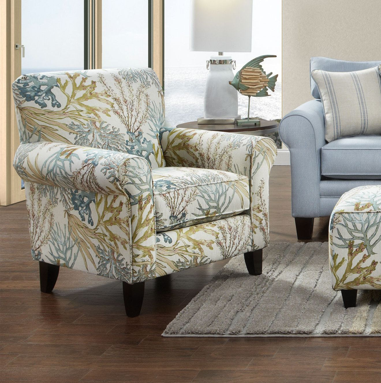 Alexzander cocktail ottoman upholstered chairs