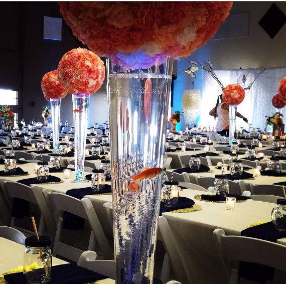 Custom made flower ball centerpieces by GillumEventDesigns ...