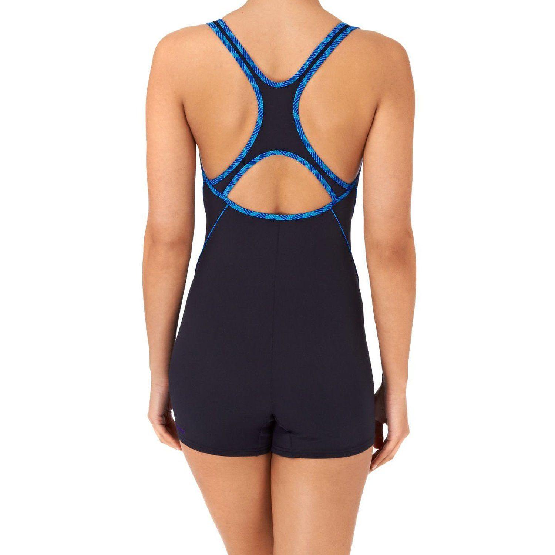 34123627022d4 Amazon.com: SPEEDO Endurance+ Speedofit Kickback Ladies Legsuit: Sports  Outdoors Tights, Swimwear