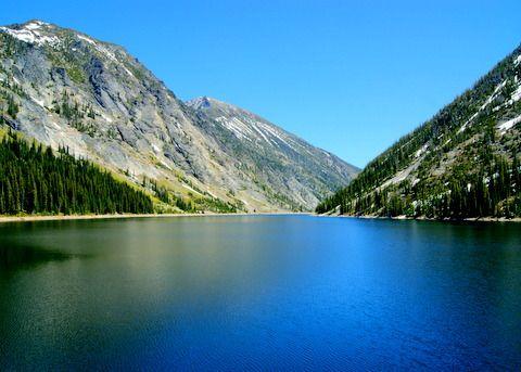 Bass Lake In Bass Creek Canyon Near Missoula Montana Montana Landscape Montana Vacation Montana Outdoor