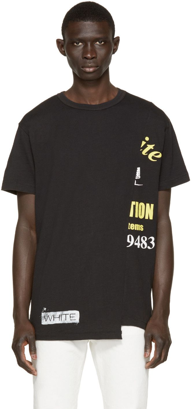 e64b66a7f41 Off-White - Black Half Truck T-Shirt