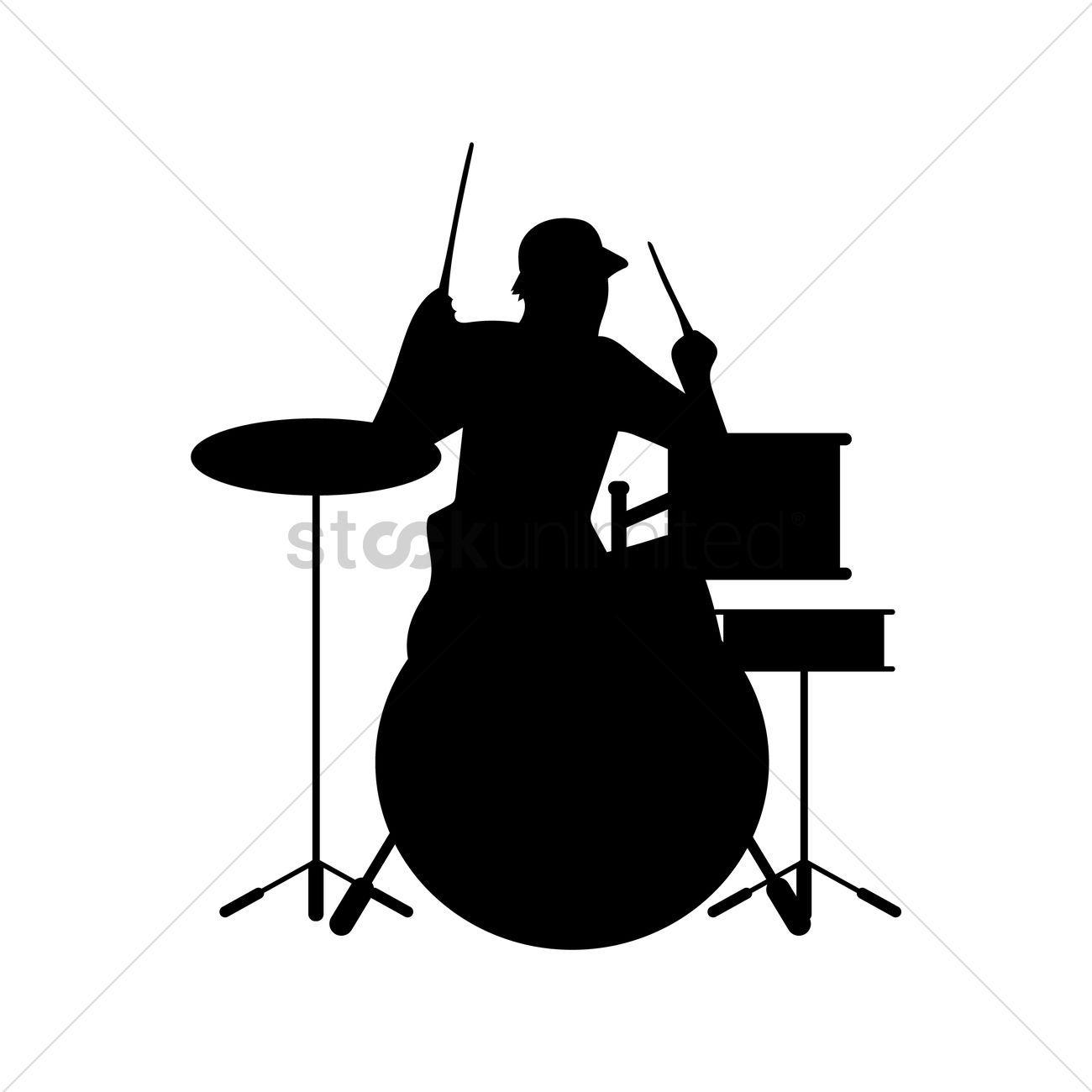 Car Tablet Vinyl Decal Musician Band Rockstar Guitarist Silhouette Shadow V.2