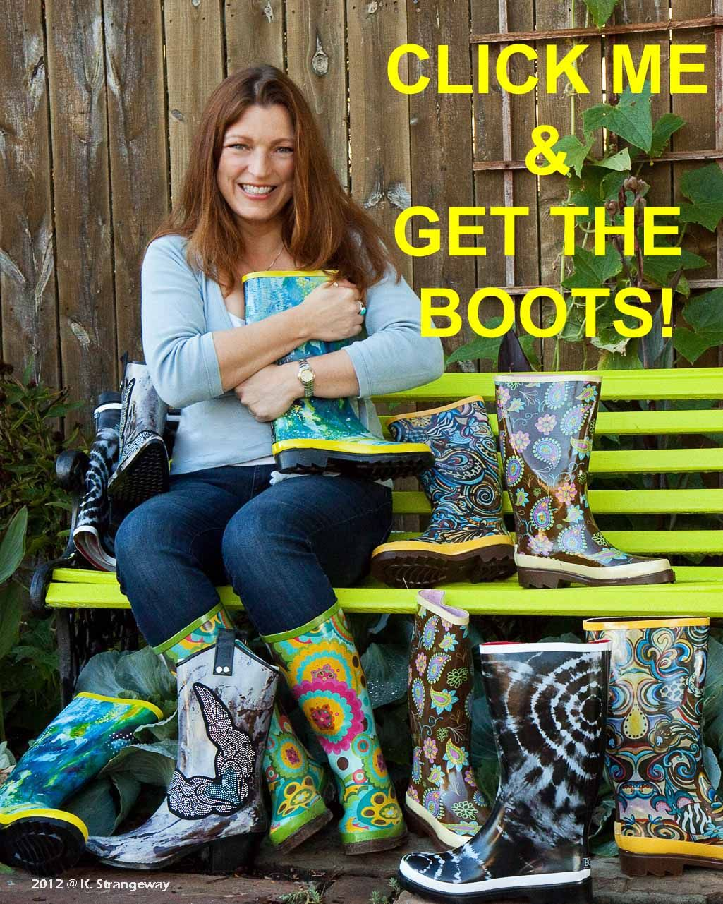 Rain Boots In Store - Cr Boot