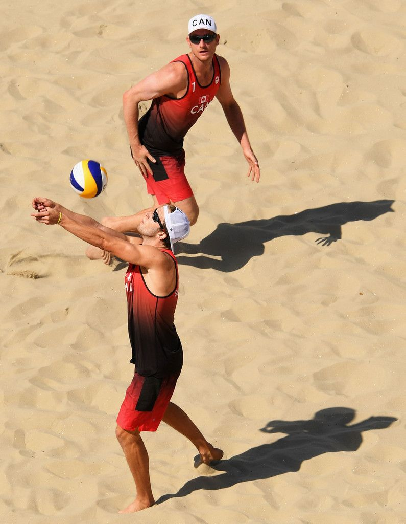 Samuel Schachter Photos Photos Beach Volleyball Olympics Day 1 Michael Phelps Olympics Beach Volleyball Olympic Gymnastics