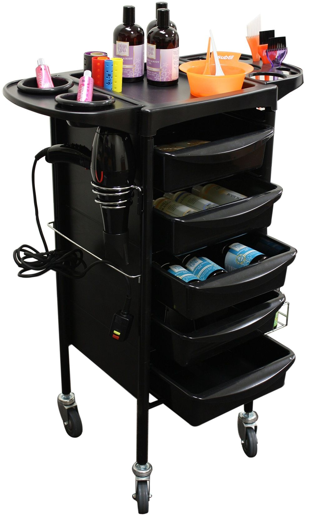 Mobile Storage Cabinets and Trolleys for your Hair, Nail Salon, Spa, or Beauty Shop | CCI Beauty