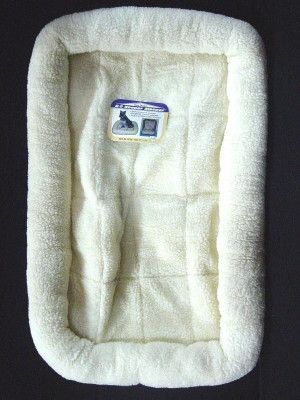 """DOG BEDS & LOUNGERS - K-9 SLEEPER PAD - 35.5"""" x 22.5"""" NATURAL - CENTRAL - FOUR PAWS PRODUCTS - UPC: 45663581367 - DEPT: DOG PRODUCTS"""