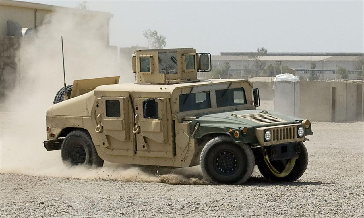 Humvee orders about to end have you met the mrap