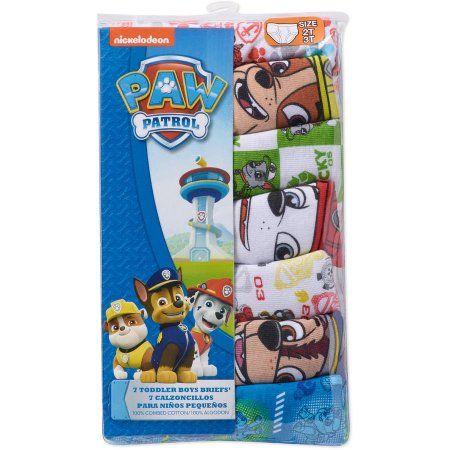 Birthday Return Gifts Nickelodeon Paw Patrol Toddler Boys Underwear 7 Pack