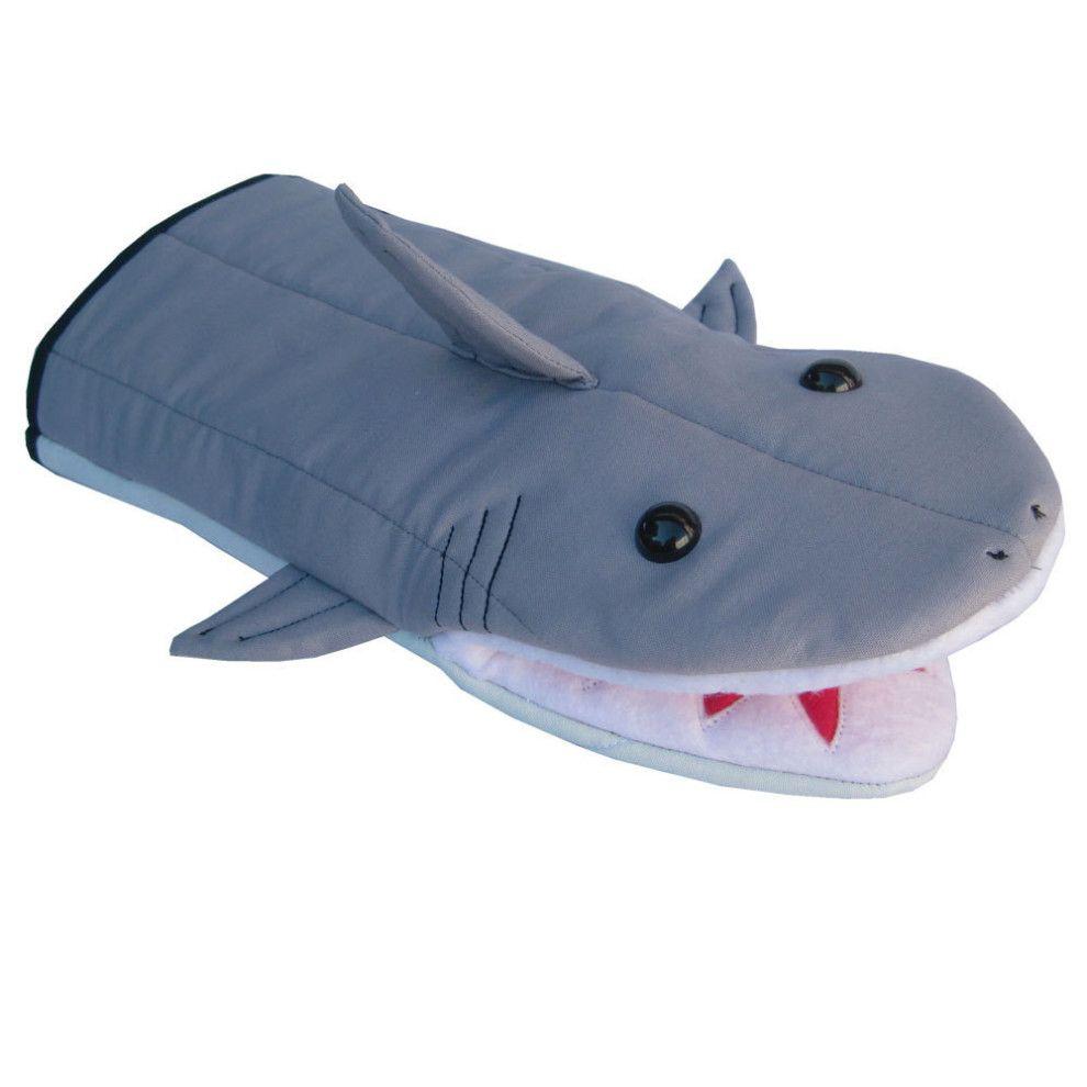 This Aggressively Cute Oven Mitt Shark Accessories Shark Mitt