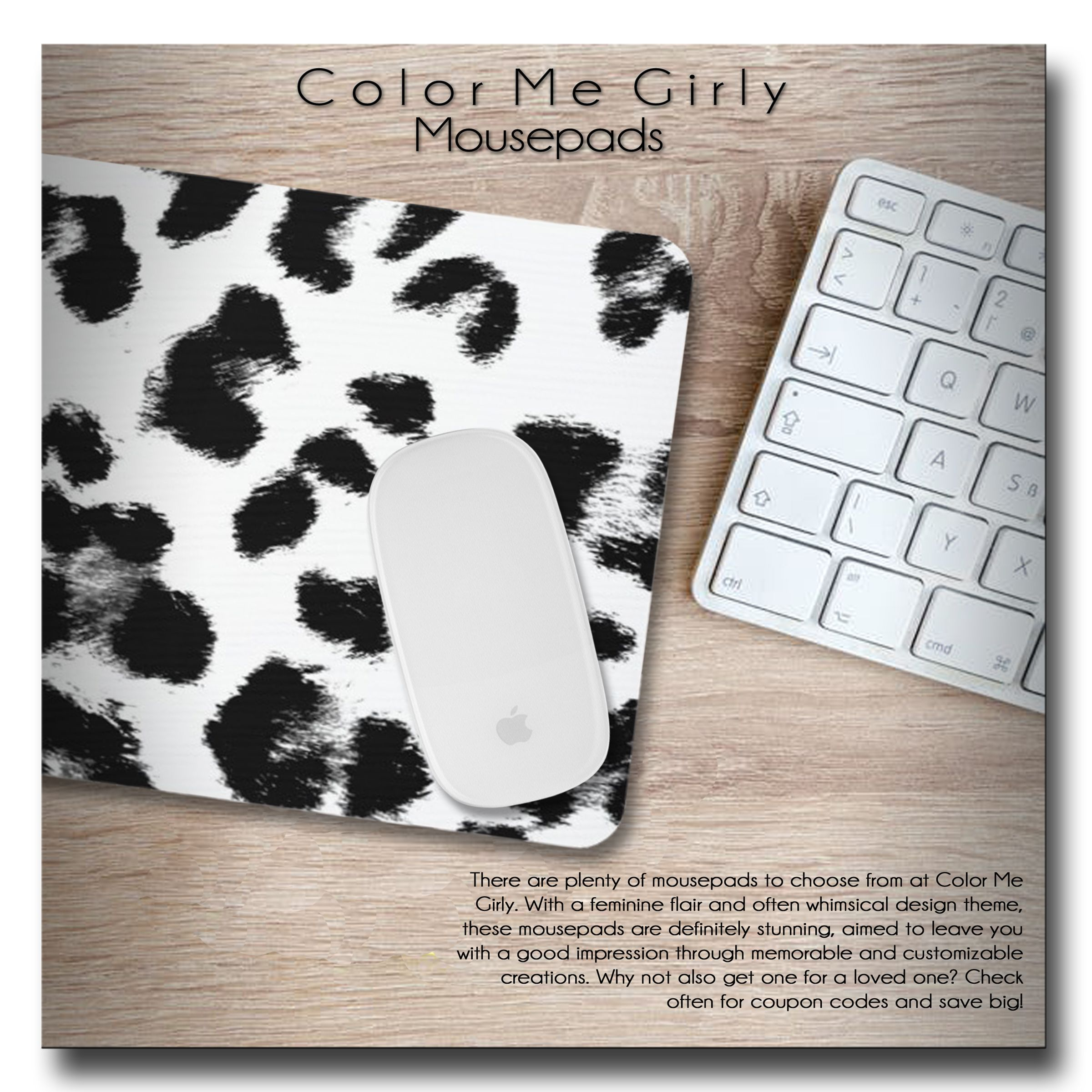 Merveilleux ... Leopard, Leopard Print, Animal Print, Leopard Spots, Spotted, Trendy,  Elegant, Cute, Mousepad, Mousepads, Mouse Pad, Mouse Pad, Office, Office  Supplies, ...