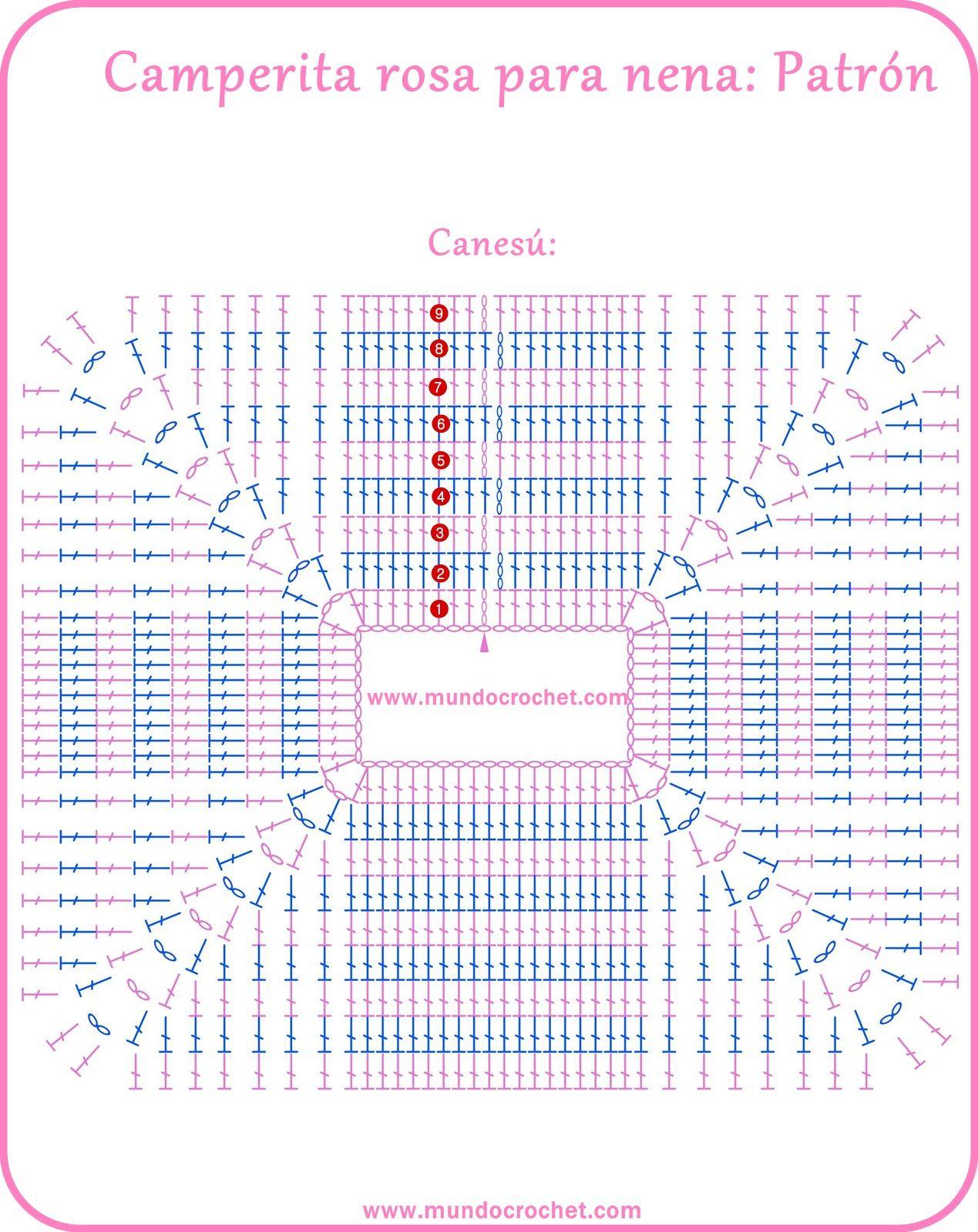 Camperita-rosa-patrón02sp.jpg (1269×1600)   Manualidades bebes ...