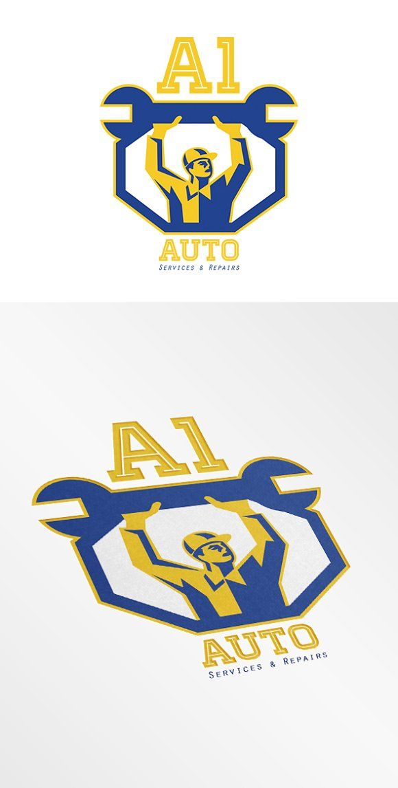 auto services and repair logo auto service logos and logo templates rh pinterest com auto repair logo templates free