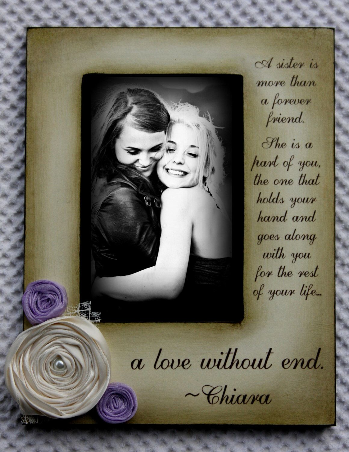 A sister is more than a forever friend quote best friend