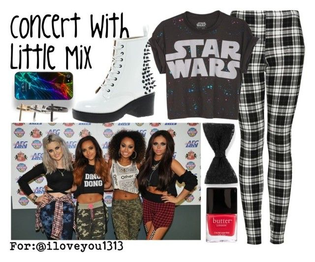 """Concert With Little Mix"" by albamonkey ❤ liked on Polyvore featuring Topshop, Butter London, claire's, Zero Gravity, ALDO and With Love From CA"
