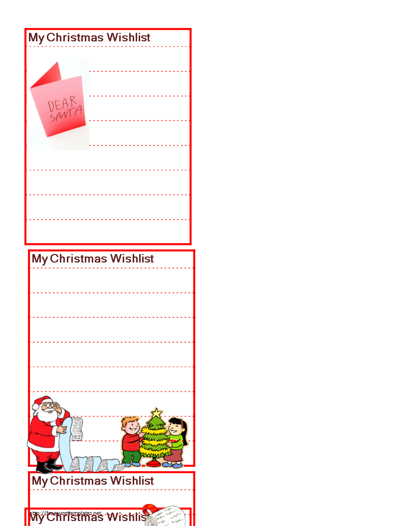 christmas wish list looking for a christmas wish list