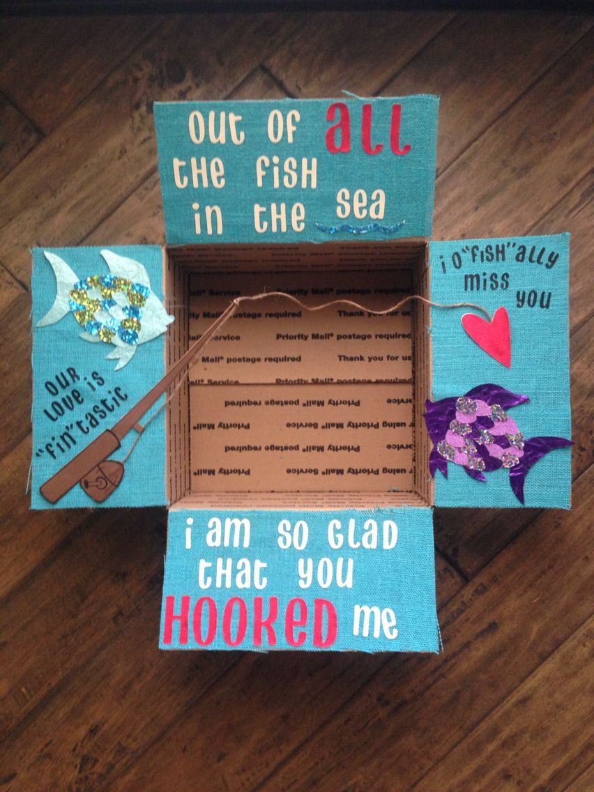Boyfriend Care Package Diy Gifts For Bf Cute Birthday