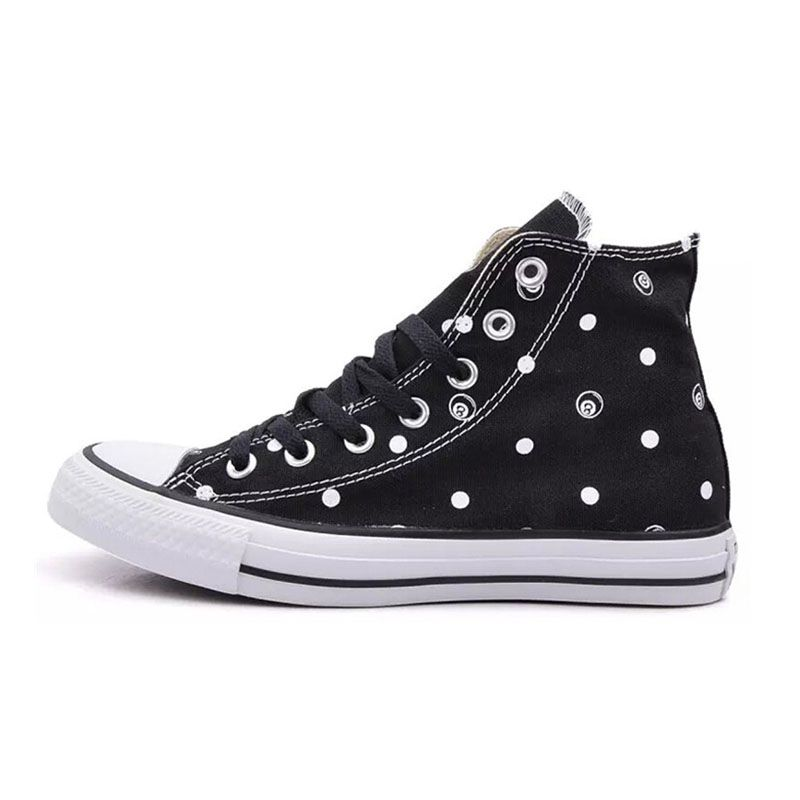 269f492f3ef0  converse () spring new printing high men and women couple shoes vulcanized  shoes 147030C