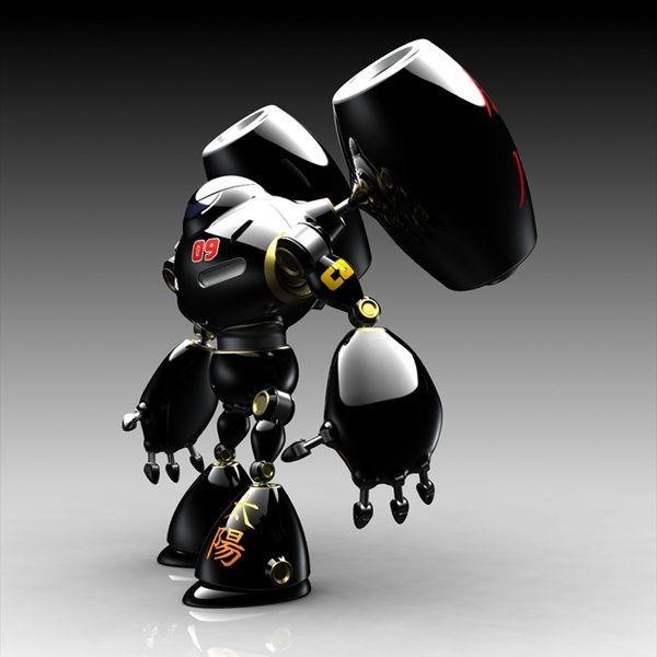 Norio Fujikawa 3D Bot Characters