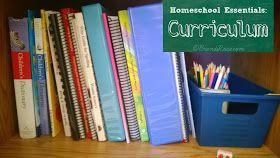 Brandi Raae: 5 Days of Homeschooling Essentials ~ Curriculum