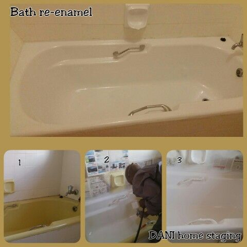 Bath Re Enamelling A Cheaper Way To Update Bathroom Bathroom