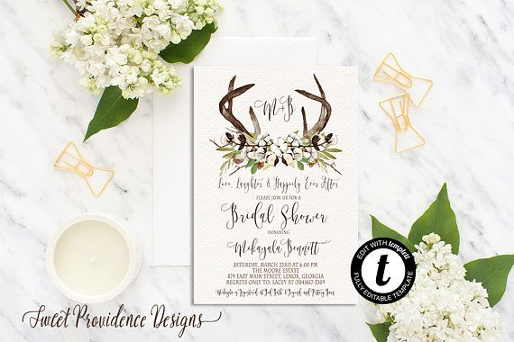 Edit right in your browser with templett edit right in your browser with templett print your own bridal shower invitati filmwisefo