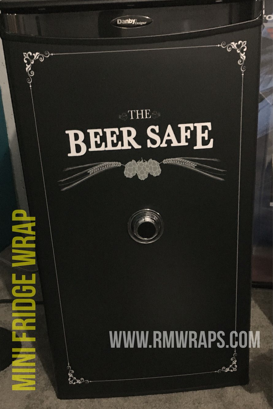 Beer Safe Mini Fridge Wrap Only At Www Rmwraps Com Mini