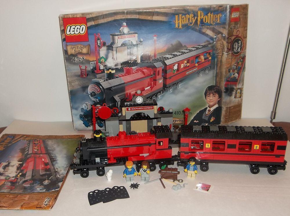 Lego Harry Potter 4708 Hogwarts Express Train Instructions Box
