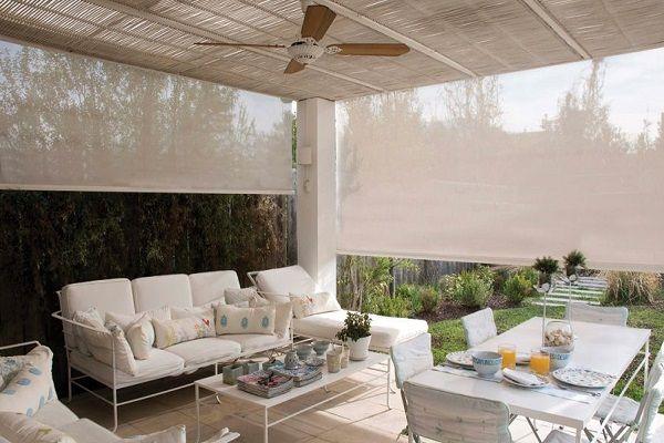 Toldos cortinas persianas y alfombras en costa rica for Cortinas para terrazas exteriores