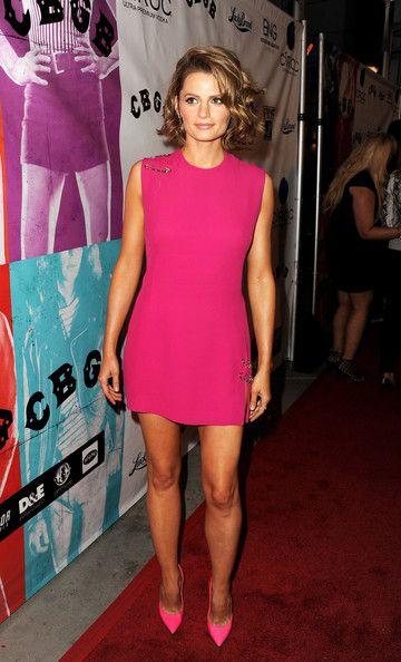 HOLLYWOOD, CA- OCTOBER 01: Actress/model Stana Katic