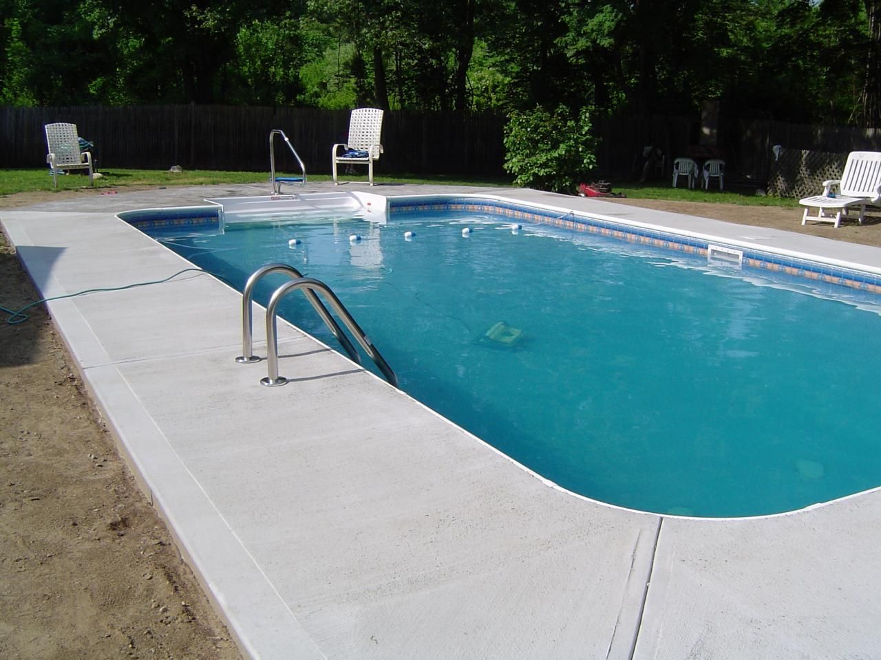 Image result for rectangular pool concrete for the home for Concrete swimming pool