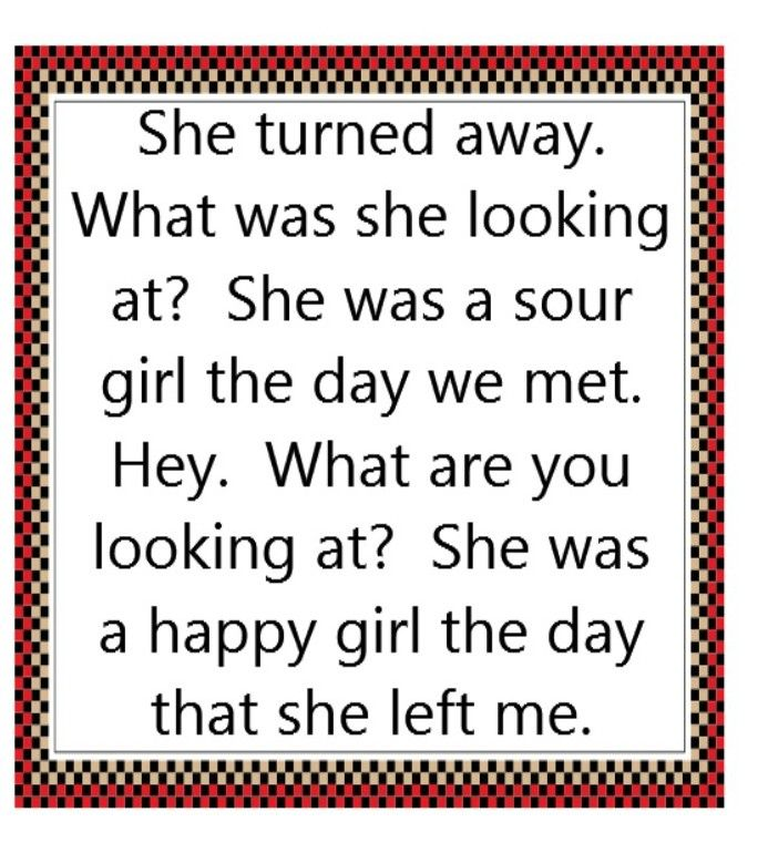 Sour Girl Stone Temple Pilots Song Lyrics Quotes Music Song