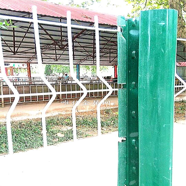5mm 60*200 steel wire mesh fence panel | 3D steel wire mesh fence ...