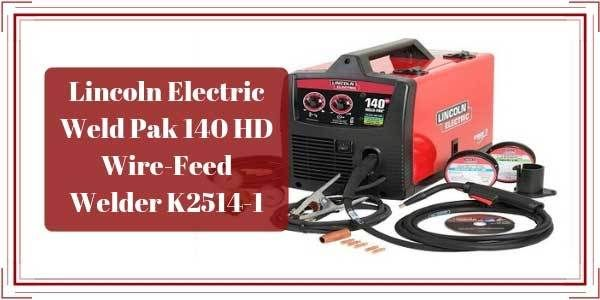 Lincoln Electric Wire Feed Welder Hd