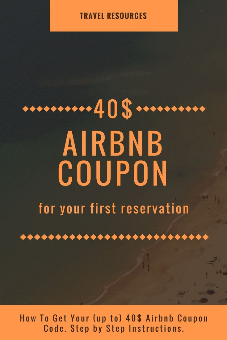 Airbnb coupon code 2017 get 40 off your first booking fandeluxe Gallery