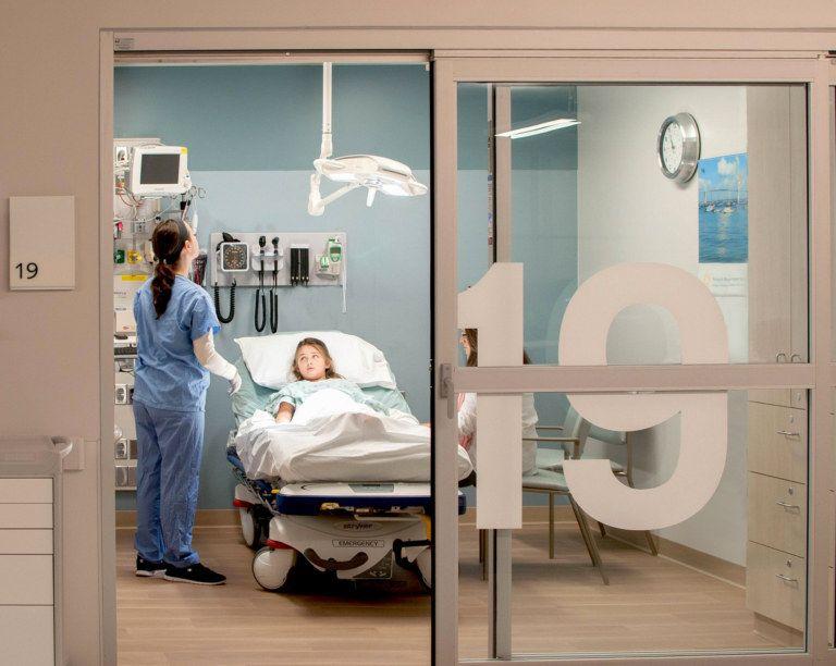 Emergency department of newport hospital hospital