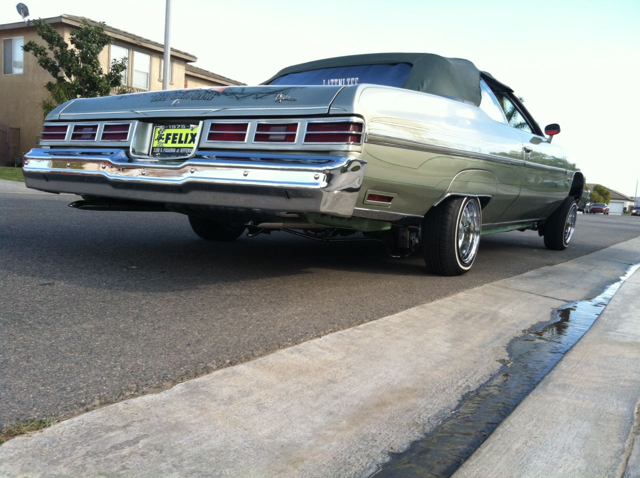 All Chevy 1971 chevrolet caprice for sale : My babes car. Just finished washing it. Glasshouse - 75 Chevy ...